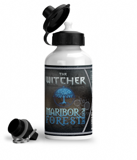 Maribor Forest Potion The Witcher Aluminium Gym Sports Water Bottle